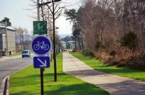 CL transports piste cyclable technopôle